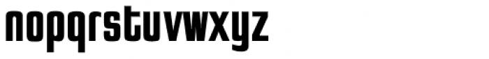 Jay Gothic URW Bold Font LOWERCASE