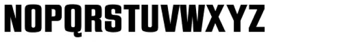 Jay Gothic URW ExtraBold Font UPPERCASE
