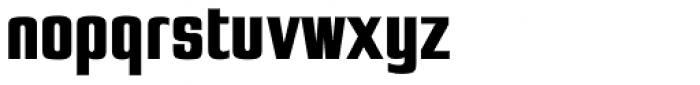 Jay Gothic URW ExtraBold Font LOWERCASE