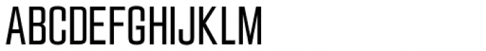 Jay Gothic URW Light Font UPPERCASE