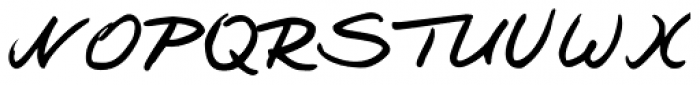 Jay Handwriting Pro Font UPPERCASE