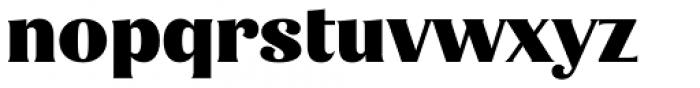 Jazmín Alt Black Font LOWERCASE