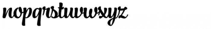 Jazz Script 1 Bold Font LOWERCASE