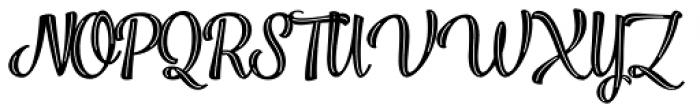 Jazz Script 2 Bold Font UPPERCASE