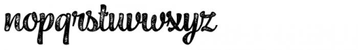 Jazz Script 3 Bold Font LOWERCASE