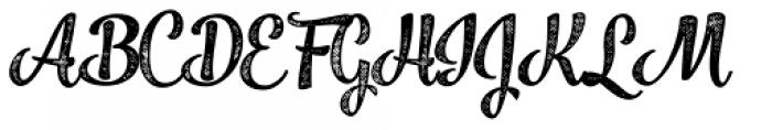 Jazz Script 4 Bold Font UPPERCASE