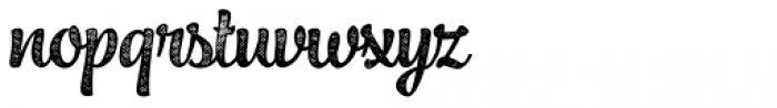 Jazz Script 4 Bold Font LOWERCASE