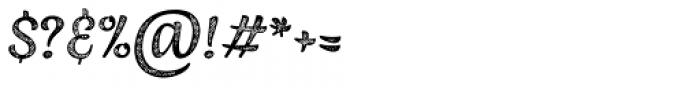 Jazz Script 4 Caps Font OTHER CHARS
