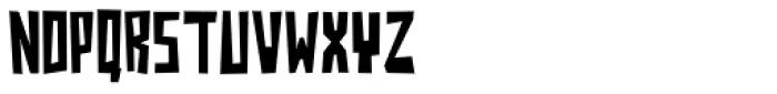 Jazzy B Thin Font UPPERCASE