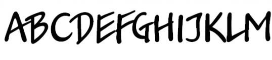 Jakob Normal Font UPPERCASE