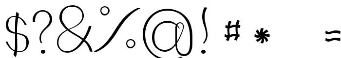 JBCourbes-Regular Font OTHER CHARS