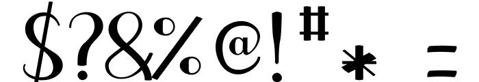 JBCursive-V3 Bold Font OTHER CHARS