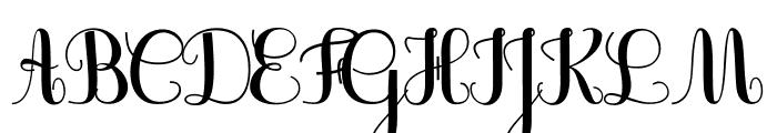 JBCursive-V3 Bold Font UPPERCASE