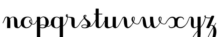 JBCursive-V3 Bold Font LOWERCASE