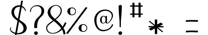 JBCursive-V3 Medium Font OTHER CHARS