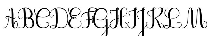 JBCursive-V3 Medium Font UPPERCASE