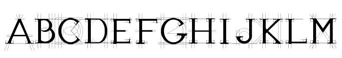 JBEtude-Regular Font UPPERCASE