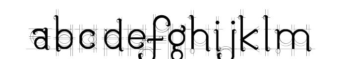 JBEtude-Regular Font LOWERCASE