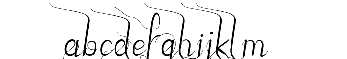 JBStyle Font LOWERCASE