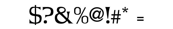 JBarrett Normal Font OTHER CHARS