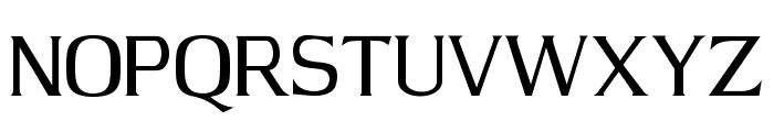 JBarrett Normal Font UPPERCASE