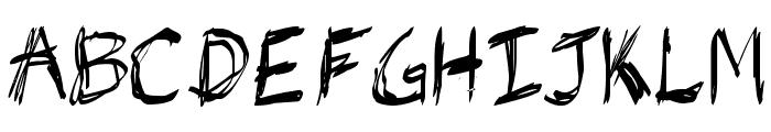 jb_hell Font UPPERCASE