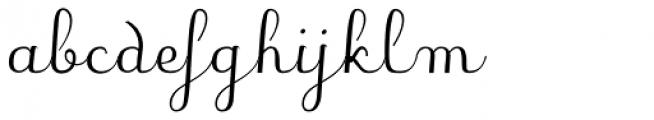 JB Davaye Regular Font LOWERCASE
