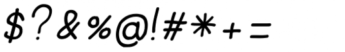 JBScript Simple Bold Italic Font OTHER CHARS