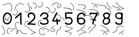 JBScript Turbules Bold Font OTHER CHARS