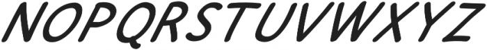 JD_Cherry_Pie_Italic Medium otf (500) Font UPPERCASE