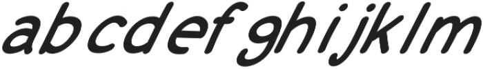 JD_Cherry_Pie_Italic Medium otf (500) Font LOWERCASE