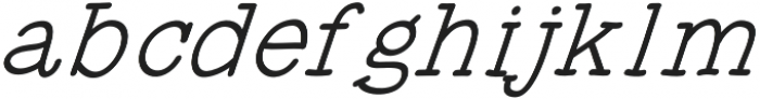 JD_Honey_Jar_Italic Medium otf (500) Font LOWERCASE