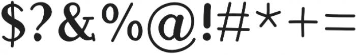 JD_Koala Medium otf (500) Font OTHER CHARS
