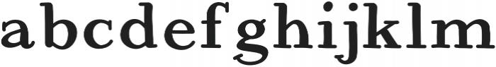 JD_Koala Medium otf (500) Font LOWERCASE