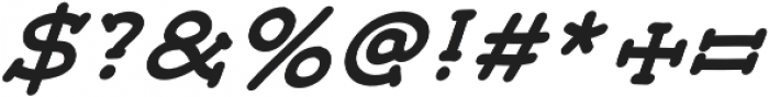 JD_Monday_Italic Medium otf (500) Font OTHER CHARS
