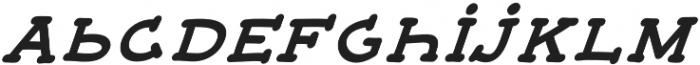 JD_Monday_Italic Medium otf (500) Font LOWERCASE