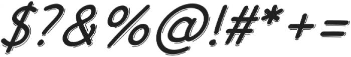 JD_Quinny_Italic Medium otf (500) Font OTHER CHARS