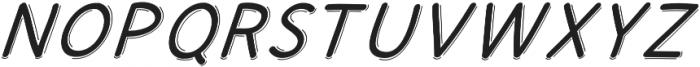 JD_Quinny_Italic Medium otf (500) Font UPPERCASE