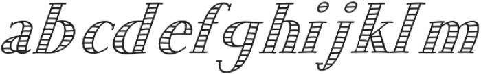 JD_Sunshine_Italic Medium otf (500) Font LOWERCASE