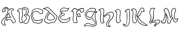 JD Belt Font UPPERCASE