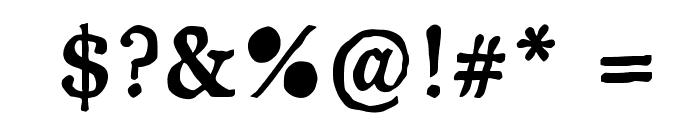 JD Carnival Black Font OTHER CHARS