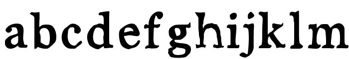 JD Carnival Black Font LOWERCASE
