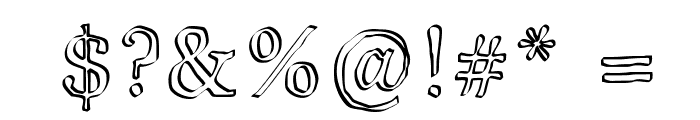 JD Carnival Font OTHER CHARS