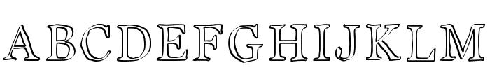 JD Carnival Font UPPERCASE