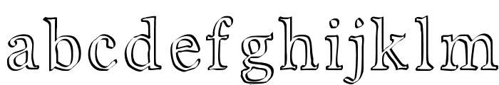 JD Carnival Font LOWERCASE