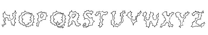 JD Cereus Regular Font UPPERCASE