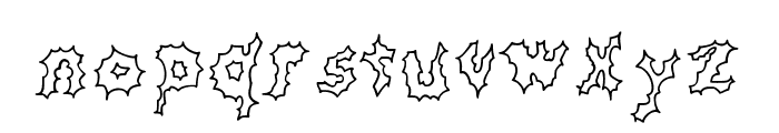 JD Cereus Regular Font LOWERCASE
