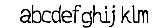 JD Daring Font LOWERCASE