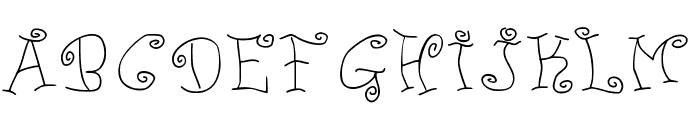 JD Ducky Font UPPERCASE