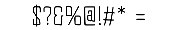 JD Equinox Font OTHER CHARS